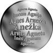 Česká jména - Anežka - stříbrná medaile