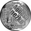 Česká jména - Anežka - velká stříbrná medaile 1 Oz