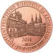 Povýšení pražského biskupství na arcibiskupství - 670 let - 1 Oz Měď b