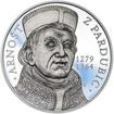 Arnošt z Pardubic - 650. výročí úmrtí stříbro proof