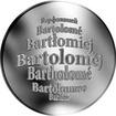 Česká jména - Bartoloměj - stříbrná medaile