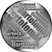 Česká jména - Bartoloměj - velká stříbrná medaile 1 Oz