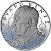 Edvard Beneš - 125. let narození - stříbro Proof