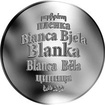 Česká jména - Blanka - stříbrná medaile