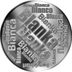 Česká jména - Blanka - velká stříbrná medaile 1 Oz