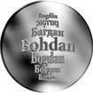 Česká jména - Bohdan - stříbrná medaile