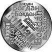 Česká jména - Bohdan - velká stříbrná medaile 1 Oz