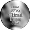 Česká jména - Ctirad - stříbrná medaile