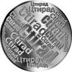 Česká jména - Ctirad - velká stříbrná medaile 1 Oz
