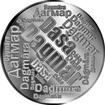 Česká jména - Dagmar - velká stříbrná medaile 1 Oz