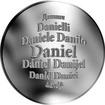 Česká jména - Daniel - velká stříbrná medaile 1 Oz