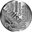 Česká jména - Denisa - velká stříbrná medaile 1 Oz