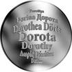Česká jména - Dorota - stříbrná medaile