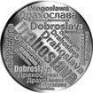 Česká jména - Drahoslava - velká stříbrná medaile 1 Oz