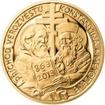 Sada zlatého dukátu a stříbrného odražku Konstantin a Metoděj - proof