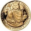 Sada zlatého dukátu a stříbrného odražku Korunovace Přemysla Otakara I