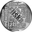 Česká jména - Eliška - velká stříbrná medaile 1 Oz
