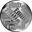 Česká jména - Emílie - velká stříbrná medaile 1 Oz