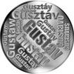 Česká jména - Gustav - velká stříbrná medaile 1 Oz