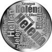 Česká jména - Helena - velká stříbrná medaile 1 Oz