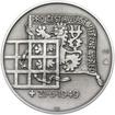 Heliodor Píka - stříbro 28 mm patina