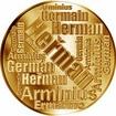Česká jména - Heřman - velká zlatá medaile 1 Oz