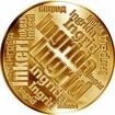 Česká jména - Ingrid - velká zlatá medaile 1 Oz