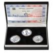 JAN HUS - sada II. – návrhy mince 10000,-Kč sada tří Ag medailí 1 Oz b