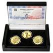 JAN HUS - sada II. – návrhy mince 10000,-Kč sada tří Au medailí 1/2 Oz