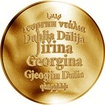 Česká jména - Jiřina - zlatá medaile