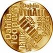 Česká jména - Jiřina - velká zlatá medaile 1 Oz