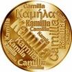 Česká jména - Kamila - velká zlatá medaile 1 Oz