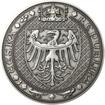 Nejkrásnější medailon IV. Karlštejn - 1 kg Ag patina