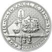 Nejkrásnější medailon IV. - Karlštejn 50 mm Ag b.k.