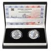 Korunovácia Maximiliána II. - návrhy mince 100 € sada Ag medailí 1 Oz