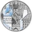 Královské hlavní město Praha - stříbro 28 mm Proof