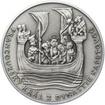Ludvík IX. Francouzský - 800. výročí narození stříbro patina