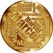 Česká jména - Marcel - velká zlatá medaile 1 Oz