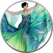 Blanka Matragi - série Motýlí barvy vzor 1- Proof