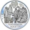Výročie Memoranda národa slovenského - 1 Oz stříbro patina