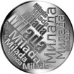 Česká jména - Milada - velká stříbrná medaile 1 Oz