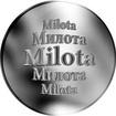 Slovenská jména - Milota - velká stříbrná medaile 1 Oz