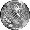Česká jména - Miluše - velká stříbrná medaile 1 Oz