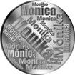Česká jména - Monika - velká stříbrná medaile 1 Oz
