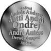 Česká jména - Ondřej - velká stříbrná medaile 1 Oz
