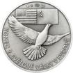Osvobození Československa 8.5.1945 - 1 Oz stříbro patina