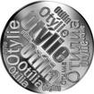 Česká jména - Otýlie - velká stříbrná medaile 1 Oz