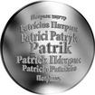 Česká jména - Patrik - velká stříbrná medaile 1 Oz