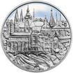 Praha - stříbro 1 Oz Proof