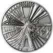 Praha - stříbro 1 Oz patina
